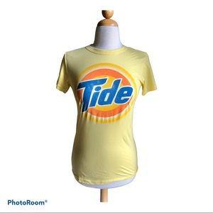 Junk Food yellow tide T-shirt Y2K